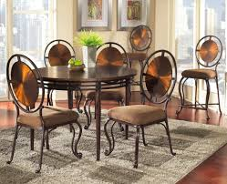 dining room round dining room table sets luxury modern glass