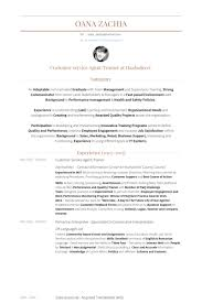 Employee Engagement Resume Customer Service Agent Resume Samples Visualcv Resume Samples