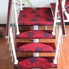 tappeto per scale vendita calda antiscivolo stair caso battistrada morbido tappeto