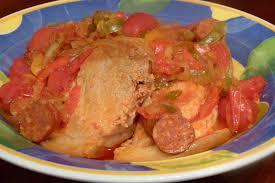 cuisiner une rouelle de porc en cocotte minute rouelle de porc aux poivrons et chorizo les gour mandises de céline