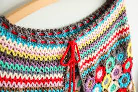 boho crochet boho cape pattern release