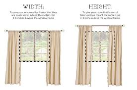 Curtains Inside Window Frame Best Way To Hang Curtain Rods Eyelet Curtain Curtain Ideas
