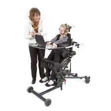 patient chair on casters stand up pediatric electric
