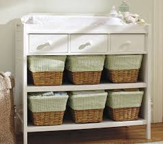 Pottery Barn Changing Table Organized Changing Table Is Key Decorating For A Boy