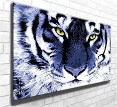 tiger eyes wildlife canvas art print stunning canvas giclee art
