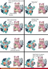 Slowbro Meme - why you do this slowbro pok礬memes pok礬mon pok礬mon go