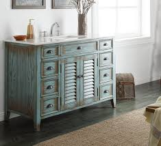bathroom ideas antique gray bathroom vanity near small table on