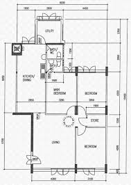 floor plans for marsiling drive hdb details srx property