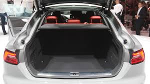 audi s5 trunk audi s5 sportback and coupe with several improvements lands at
