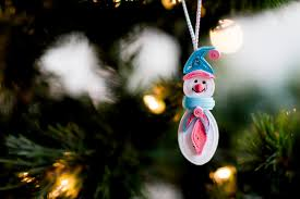 snowman ornament christmas tree ornament christmas