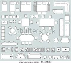 Furniture For Floor Plans Architecture Plans Furniture Icons Download Free Vector Art
