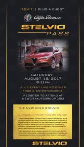 stelvio launch party by new city alfa romeo u0026 fiat of chicago in