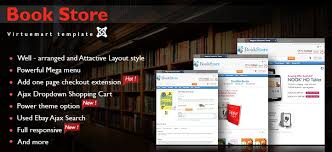 responsive virtuemart book store template book stores theme