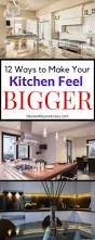 What Colors Make A Kitchen Look Bigger by 12 Ways To Make Your Kitchen Feel Bigger