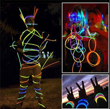 glow sticks 7 8 multi color glow stick bracelet necklaces light neon party