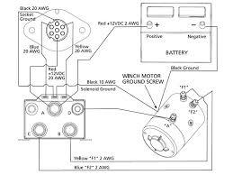 ramsey winch solenoid wiring diagram wiring diagram