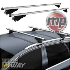 Kia Sportage Roof Rails by M Way 135cm Lockable Aluminium Car Roof Rack Flush Rail Bars For