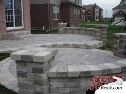 Brick Paver Patio Design Ideas Ideas Design For Brick Patio Patterns Two Tier Brick Paver