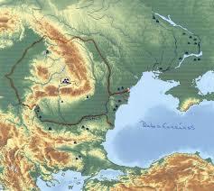 Barrows Map Mounds Barrows In Transylvania