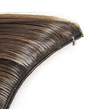 gray frosted hair 5 pieces jeedou wavy synthetic line flip hair extension 24 60cm