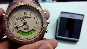 timex expedition mf13 unboxing and features youtube