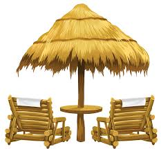 Beach Lounge Chair Umbrella Beach Chair With Umbrella Clipart Collection