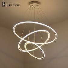Lights For Living Room Aliexpress Com Buy New Modern 3 Circle Rings Led Pendant Lights