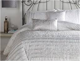 Brushed Nickel Headboard White Ruffle Comforter Urban Style Bedroom Remodel With White