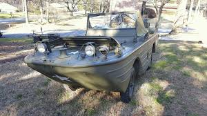 amphibious vehicle for sale 1942 ford gpa restored swimmer amphibious jeep military vehicles