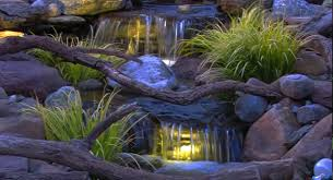 Outdoor Water Features With Lights by 3 Ideas For Small Backyard Water Features Premier Ponds Dc Md