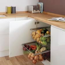 vegetable storage kitchen cabinets baskets base storage howdens