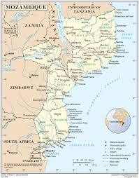 Mozambique Map Mozambique International Organization For Migration
