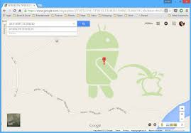 Google Com Maps Cult Of Android Android Bot Caught On Apple Logo In