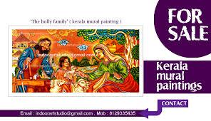 Mural Painting Designs by Christian Kerala Mural Paintings Indoor Art Gallery