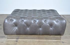 Black Tufted Ottoman Coffee Table Coffee Table Leather Tufted Ottoman Black Diy Berry
