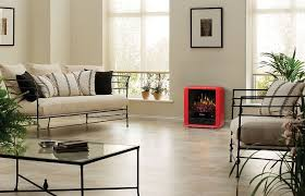 Electric Stove Fireplace Amazon Com Dimplex Mini Cube Electric Stove Dmcs13r Red Home
