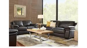 Black Livingroom Furniture Cindy Crawford Home Living Room Furniture Sets