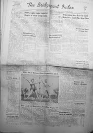 le bureau fran is berl nd index of names a g from the 1954 bridgeport index newspaper
