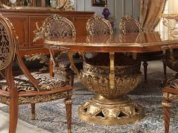 versailles dining room table and chairs versailles in louis xvi style vimercati classic