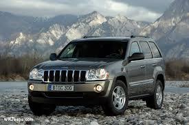 jeep grand cherokee wk export models