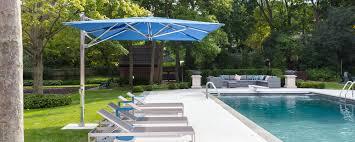 11 Parasol Cantilever Umbrella Sunbrella Fabric by Single Cantilever Ocean Master Max Umbrellas U0026 Parasols Tuuci