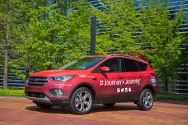 Ford Escape Green - 2017 ford escape leads cross country coca cola journey the news