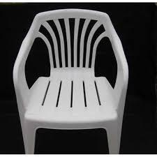 itugek white garden chairs plastic round outdoor furniture