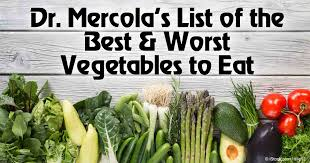 list of best u0026 worst vegetables to eat