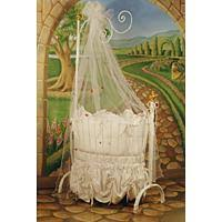 espresso sleigh crib from the land of nod