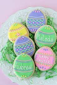 Icing To Decorate Cookies Cute And Easy Decorated Easter Egg Cookies U2013 Glorious Treats