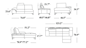 average size of couch average size of couch average size of a measurements standard