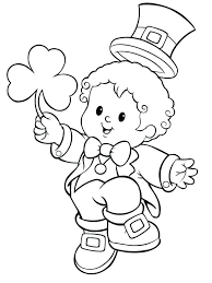 leprechaun coloring pages printable free leprechaun coloring pages umnistanbulstudyabroad com