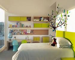Kids Room Table by Simple Kids Bedroom Decoration With Trees Painted Wall Decor Have