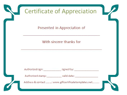 sample text for certificate of appreciation 37 best certificate of appreciation templates images on pinterest